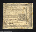 Colonial Notes:Pennsylvania, Pennsylvania April 3, 1772 2s Extremely Fine. Well signed, ...
