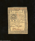 Colonial Notes:Pennsylvania, Pennsylvania October 1, 1773 10s Extremely Fine. The left ...