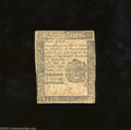 Colonial Notes:Pennsylvania, Pennsylvania October 25, 1775 4d Very Fine. An ideal ...