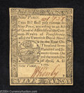 Colonial Notes:Pennsylvania, Pennsylvania April 10, 1777 9d Choice About New. Bright, ...