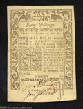 Colonial Notes:Rhode Island, Rhode Island 40s May 1786 About New. Well signed and well ...