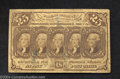 Fractional Currency:First Issue, Fr. 1281 25c First Issue Very Fine.A nice postal note with ...
