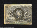 Fractional Currency:Second Issue, Fr. 1290 25c Second Issue Very Fine. There is a scattering ...