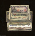 World Currency: , Eight Assorted Foreign Notes. A Belgian note, a Mexican ... (8 notes)