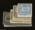 World Currency: , Dozen Foreign Notes. The Japanese, French, and Philippines ... (12 notes)