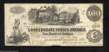 Confederate Notes:1862 Issues, T39 $100 1862. Another nice, lightly circulated CSA train ...