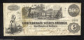 Confederate Notes:1862 Issues, T39 $100 1862. A nice lightly circulated example.