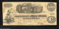 "Confederate Notes:1862 Issues, T40 $100 1862. Another attractive, lightly circulated ""..."