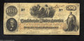 Confederate Notes:1862 Issues, T41 $100 1862. Very Fine-Extremely Fine, problem-free ...