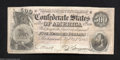 Confederate Notes:1864 Issues, T64 $500 1864. A rather attractive Stonewall Jackson note ...