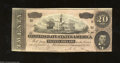 Confederate Notes:1864 Issues, T67 $20 1864. A Series 2 example that has been well ...