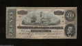 Confederate Notes:1864 Issues, Offset Error T67 $20 1864. Despite wartime conditions, ...
