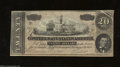 Confederate Notes:1864 Issues, Gutter Error T67 $20 1864. The upper right-hand corner ...