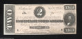 Confederate Notes:1864 Issues, T70 $2 1864. This attractive Judah Benjamin Deuce is ...