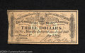 Confederate Notes:Group Lots, $3 Confederate Bond Coupon 1864. A different type of ...