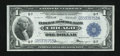 Fr. 729 $1 1918 Federal Reserve Bank Note Very Fine-Extremely Fine
