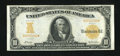 Large Size:Gold Certificates, Fr. 1169 $10 1907 Gold Certificate Very Fine....