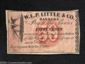 Obsoletes By State:Michigan, 1862 50 Cents W.L.P Little and Co Bankers, East Saginaw, MI, ...