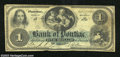 Obsoletes By State:Michigan, 1863 $1 The Bank of Pontiac, MI, Very Good+. This is a very ...