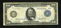 Fr. 1039b $50 1914 Federal Reserve Note Fine-Very Fine