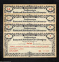 Miscellaneous:Depression Scrip, Plaza, ND- Simonson & Ames. Four Examples. .5¢, 1.5¢, 2¢,&... (4 notes)