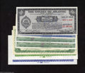 Miscellaneous:Depression Scrip, New Jersey Scrip. Seven Examples. County of Atlantic $1 ... (7notes)