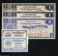Miscellaneous:Depression Scrip, New York Depression Scrip. Five Examples. Port of New York ... (5notes)