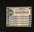 Miscellaneous:Depression Scrip, Portland, OR- Portland Clearing House Association. Five ... (5notes)