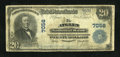 National Bank Notes:Pennsylvania, Atglen, PA - $20 1902 Plain Back Fr. 650 The Atglen NB Ch. # 7056....