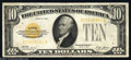 Small Size:Gold Certificates, Fr. 2400 $10 1928 Gold Certificate. Very Fine-Extremely Fine....