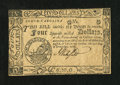 Colonial Notes:South Carolina, South Carolina December 23, 1777 (erroneously dated) $4 ChoiceNew....
