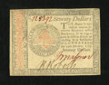 Colonial Notes:Continental Congress Issues, Continental Currency January 14, 1779 $70 About New....