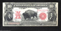 Large Size:Legal Tender Notes, Fr. 122 $10 1901 Legal Tender Note Gem New. This wonderful ...