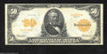 Large Size:Gold Certificates, Fr. 1199 $50 1913 Gold Certificate Extremely Fine. A fully ...