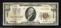 National Bank Notes:Colorado, Denver, CO - $10 1929 Ty. 1 The United States NB Ch. # ...