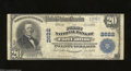 National Bank Notes:Colorado, Fort Collins, CO - $20 1902 Plain Back Fr. 660 The First ...