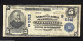 National Bank Notes:Kentucky, Louisville, KY - $5 1902 Plain Back Fr. 607 The NB of ...