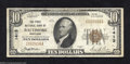 National Bank Notes:Maryland, Baltimore, MD - $10 1929 Ty. 1 The First NB Ch. # ...