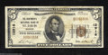 National Bank Notes:Missouri, Saint Louis, MO - $5 1929 Ty. 1 The Boatmen's NB Ch. # ...