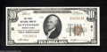 National Bank Notes:Pennsylvania, Huntingdon, PA - $10 1929 Ty. 1 The First NB Ch. # 31