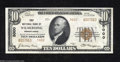 National Bank Notes:Pennsylvania, Wilmerding, PA - $10 1929 Ty. 2 First NB Ch. # 5000