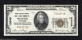 National Bank Notes:Tennessee, Memphis, TN - $20 1929 Ty. 1 Union Planters NB & TC Ch....