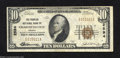 National Bank Notes:Virginia, Charlottesville, VA - $10 1929 Ty. 1 The Peoples NB ...