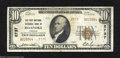 National Bank Notes:Virginia, Roanoke, VA - $10 1929 Ty. 2 The First National Exchange ...