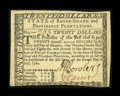 Colonial Notes:Rhode Island, Rhode Island July 2, 1780 $20 Choice About New....