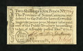 Colonial Notes:North Carolina, North Carolina December, 1771 2s/6d Extremely Fine-About New....