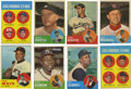 Baseball Cards:Sets, 1963 Topps Baseball Complete Set (576). Offered is a complete 1963Topps baseball set in overall solid middle grade. This s...