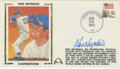 Autographs:Others, Don Drysdale Signed First Day Cover. The Dodgers' beloved retirednumber 53 has deposited a simply outstanding exemplar of ...