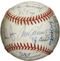 Autographs:Baseballs, 1969 New York Mets World Champion Team Signed Baseball. In theannals of our great National Pastime few stories can rival t...