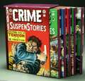 Books:Anthology, The Complete EC Library: Crime Suspenstories Volumes 1-5 (RussCochran, 1983). Russ Cochran's five volume, slipcased hardcov...